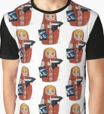 Katya Zamolodchikova Russian Doll Graphic T-Shirt