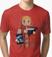 Katya Zamolodchikova Russian Doll Tri-blend T-Shirt