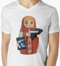 Katya Zamolodchikova Russian Doll Men's V-Neck T-Shirt