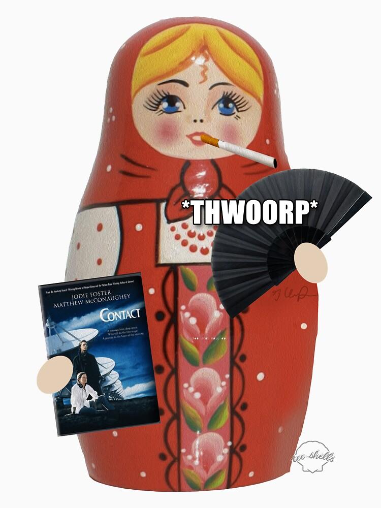 TShirtGifter presents: Katya Zamolodchikova Russian Doll | Classic T-Shirt