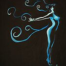 Wind Silhouette by Claire Watson