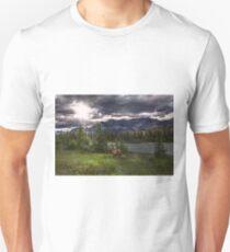 Elk in Jasper National Park Unisex T-Shirt