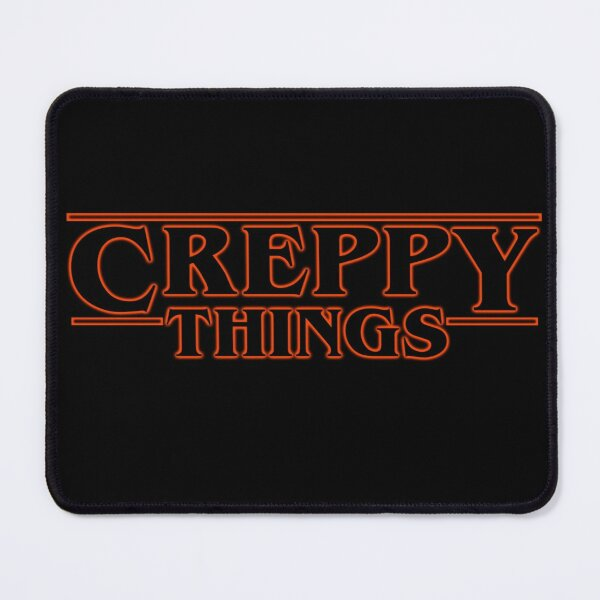 Creppy Things Outline Mouse Pad