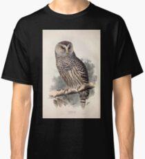 John Gould The Birds of Europe 1837 V1 V5 046 Barred Owl Classic T-Shirt
