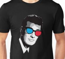 Buddy Holly 3D Glasses Unisex T-Shirt