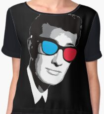Buddy Holly 3D Glasses Chiffon Top