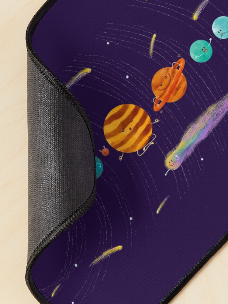 Alternate view of Cute Universe Mouse Pad