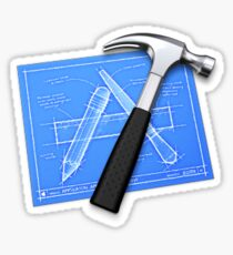 XCode App Logo Apple Sticker