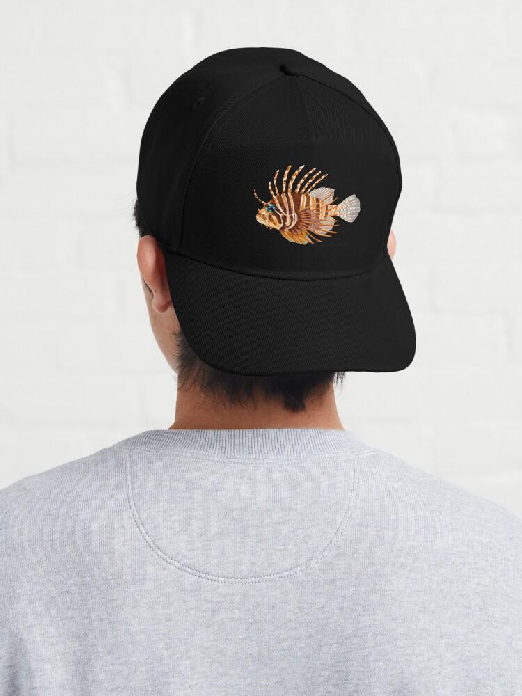 Alternate view of Zebra Lionfish Cap