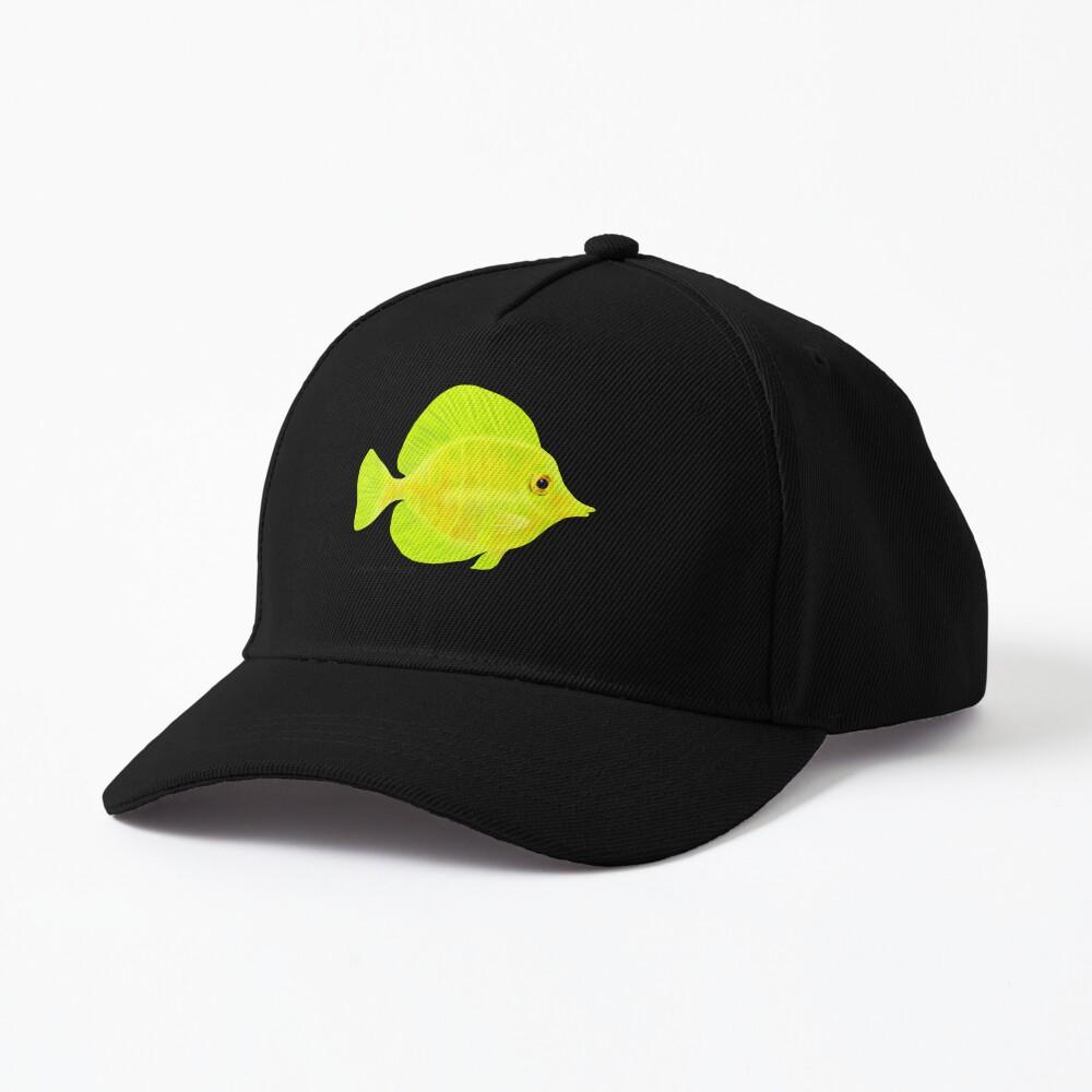 Yellow Tang Fish Cap