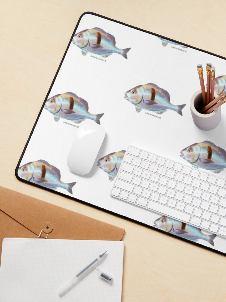 Alternate view of Xantic Sargo fish Mouse Pad