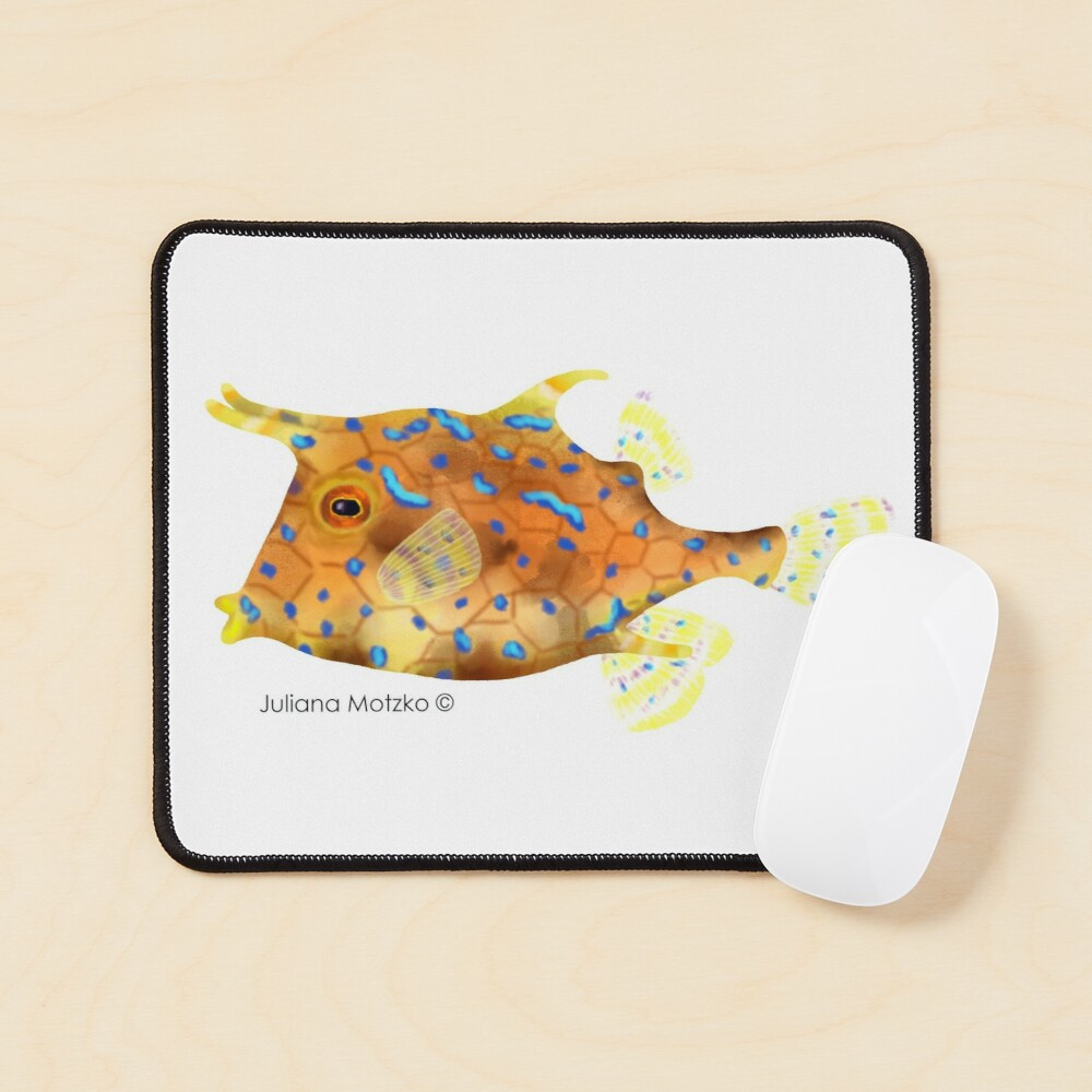 Thornback Cowfish Mouse Pad