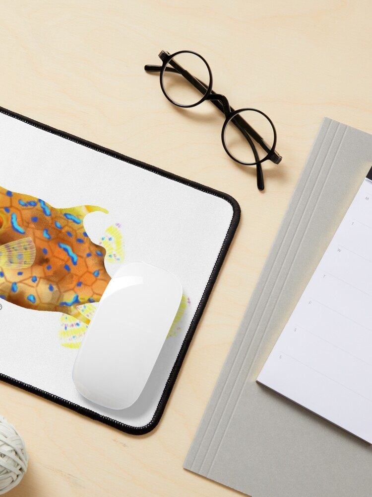 Alternate view of Thornback Cowfish Mouse Pad