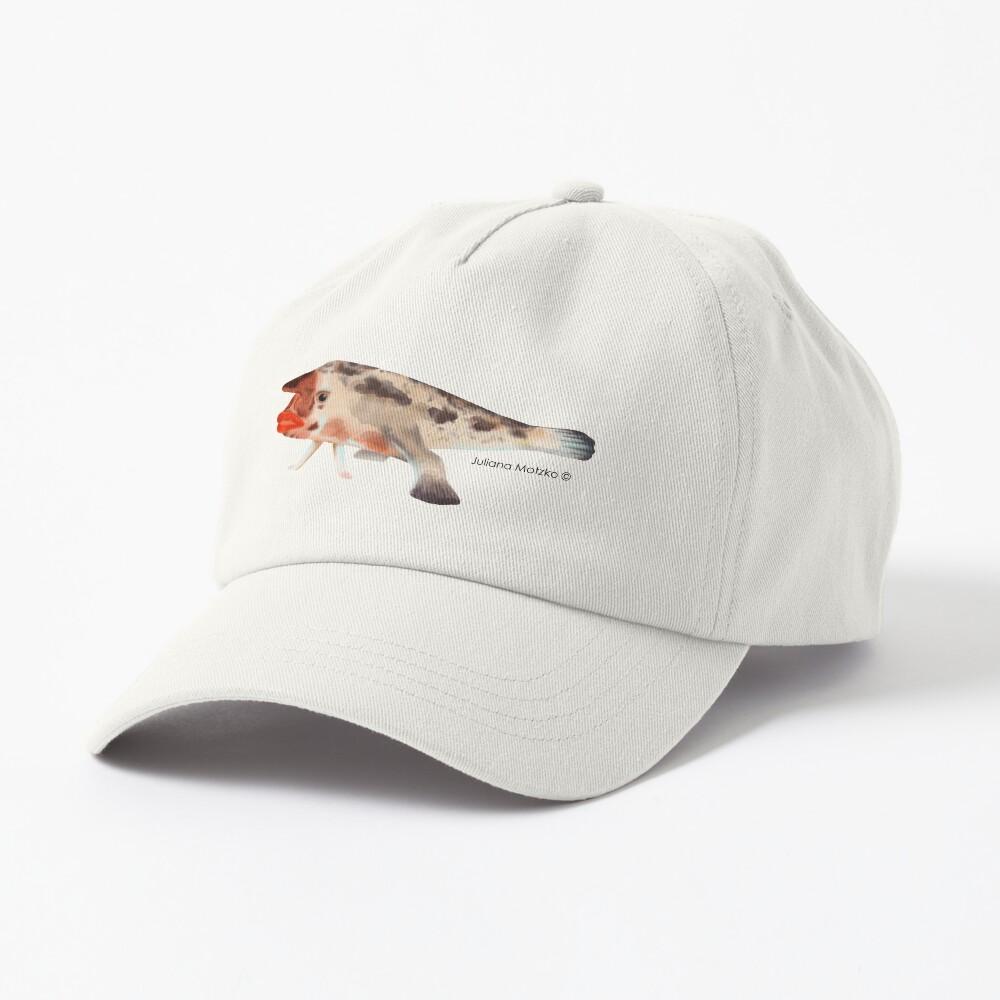 Redlipped Batfish Cap