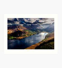 Ennerdale Water, Cumbria Lake District Art Print