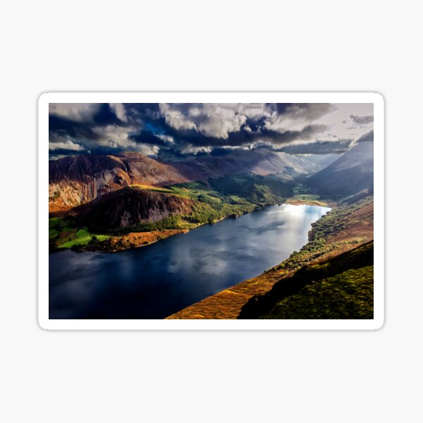 Ennerdale Water, Cumbria Lake District Sticker