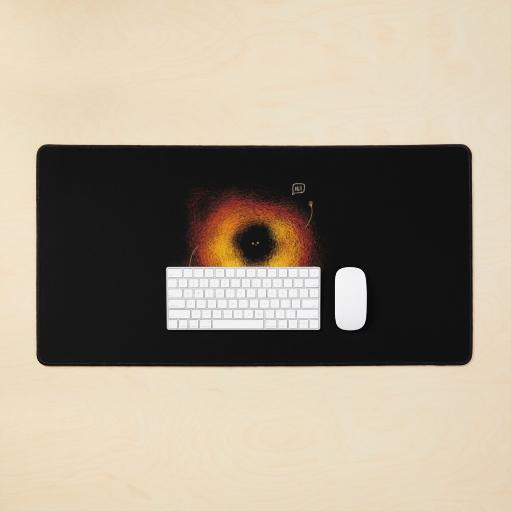 The Black Hole Mouse Pad