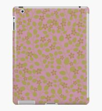 Pink Garden texture iPad Case/Skin