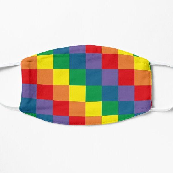 Colorful geometry Flat Mask