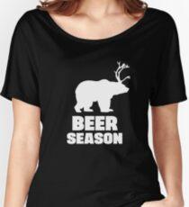 Beer Season - Bear + Deer = Beer Women's Relaxed Fit T-Shirt