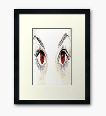 Face-6 Framed Print