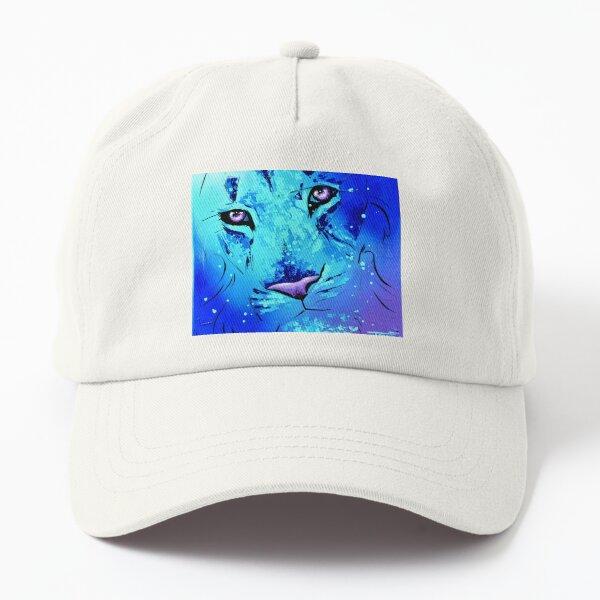 """Lion """"Interminable plongée bleue"""" Casquette Dad Hat"""