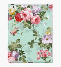 Vintage flower garden texture  iPad Case/Skin