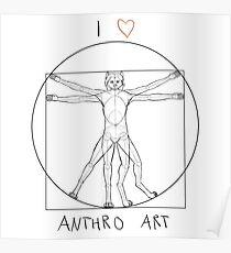 I love anthro art Poster