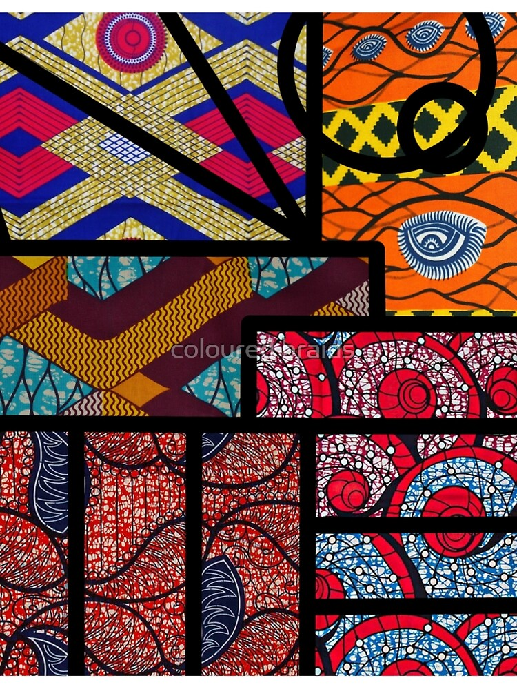 African print by Damakka-
