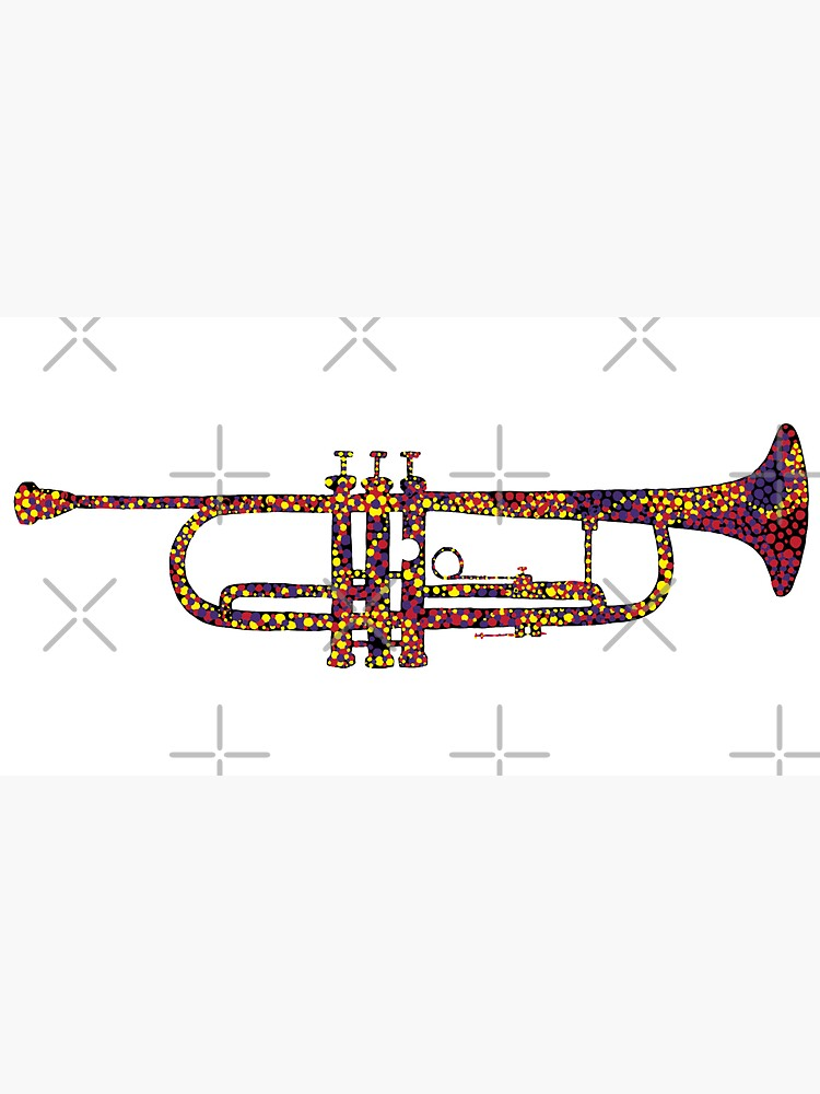 Chromatic Harmony Abstract Trumpet Art by that5280lady