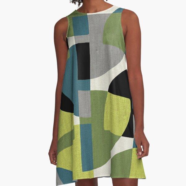 Fragments IV A-Line Dress