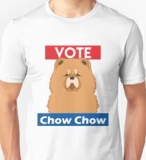 Vote Chow Chow  T-Shirt
