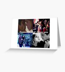Stydia- Remember that I love you Greeting Card