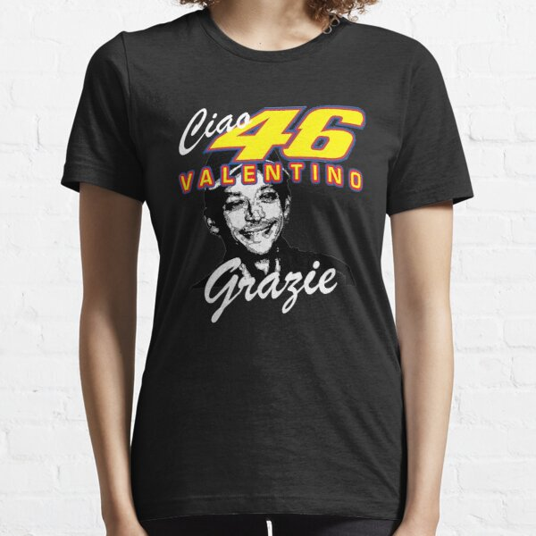 Valentino Rossi The Doctor The GOAT Design  Essential T-Shirt