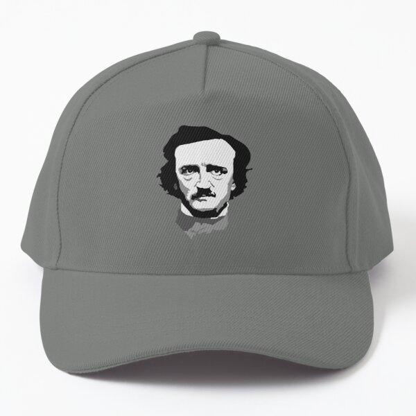 Edgar Allen Poe - Quoth the Raven Baseball Cap