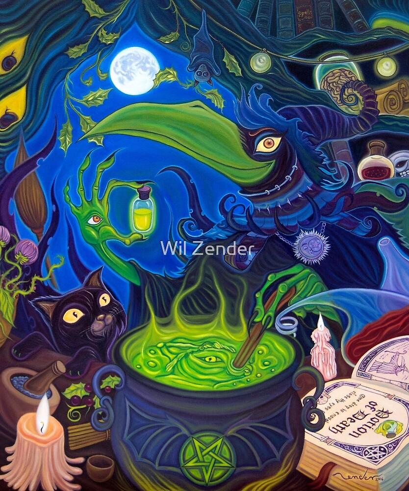 Dark Witch by Wil Zender