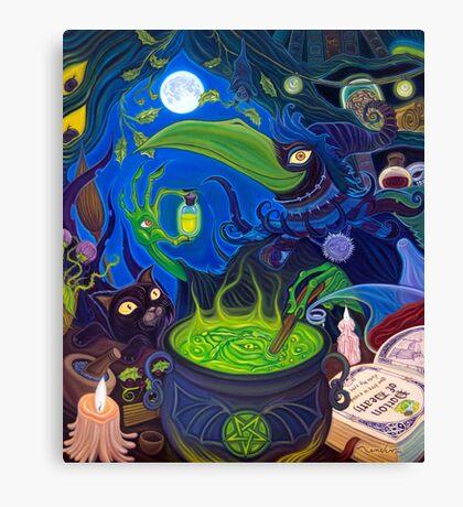 Dark Witch Canvas Print