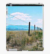 Montana Fence iPad Case/Skin