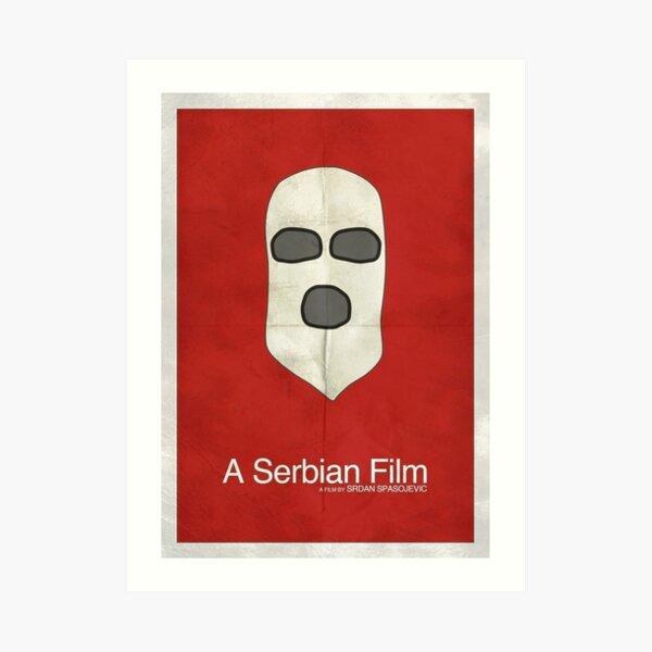 A Serbian Film - Minimalist Art Print