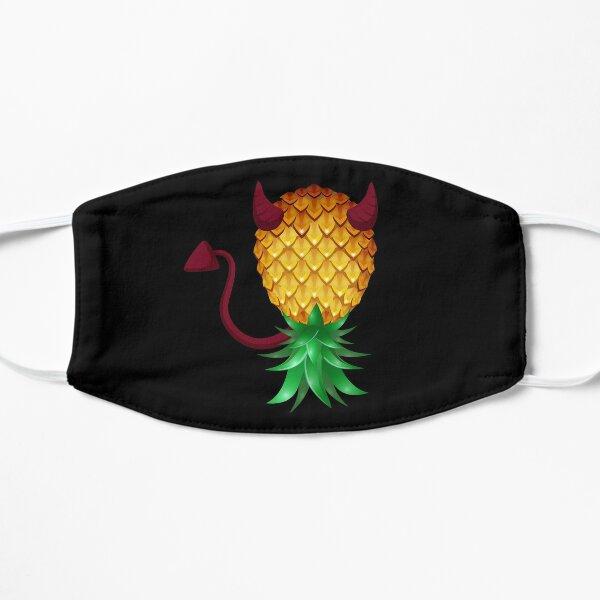 Devil Swinger Upside Down Pineapple Flat Mask