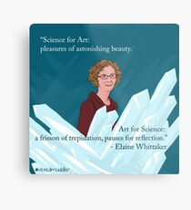 #SciComm100: Elaine Whittaker Metal Print