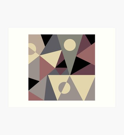 Triangulation I Art Print