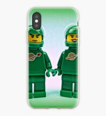 Lego Space Pete & Yve iPhone Case