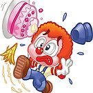 HeinyR- Clown Tripping Over by cadellin