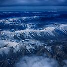 Snow Dusted Mountains by Linda Cutche