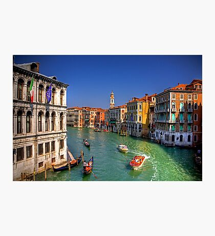 Light Traffic on the Grand Canal Photographic Print