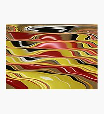 Wavy Abstract Photographic Print