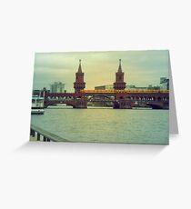 Berlin zug Greeting Card