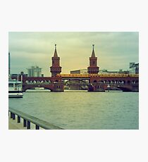 Berlin zug Photographic Print