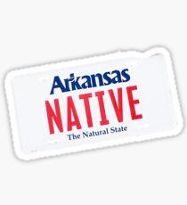 Native Arkansan Sticker